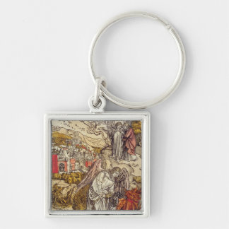 Angel with the Key of the Abyss, 1498 Keychain