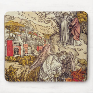 Angel with the Key of the Abyss, 1498 Mouse Pad