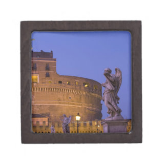 Angel with the Sudarium on the Ponte Sant'Angelo Keepsake Box