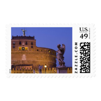 Angel with the Sudarium on the Ponte Sant'Angelo Postage Stamps
