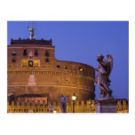 Angel with the Sudarium on the Ponte Sant'Angelo Postcard
