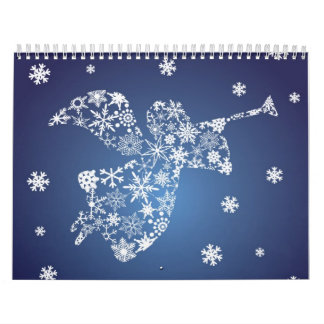 Angel with Trumpet Calendar