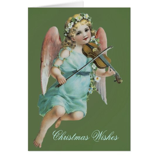 Angel with Violin Card