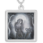 Angel Wolf Necklace