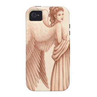 Angel Woman Vibe iPhone 4 Case