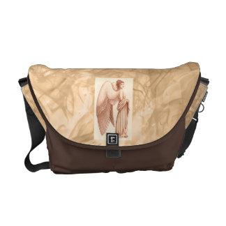 Angel Woman Messenger Bags