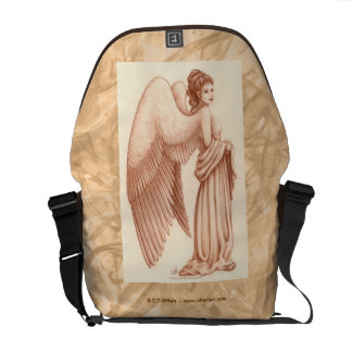 Angel Woman Courier Bags