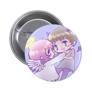 Angel x Demon Luv Pin