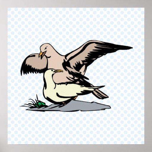 Ángel y albatros de Angela Posters