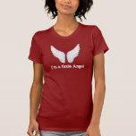 Ángel y camiseta de las señoras del diablo