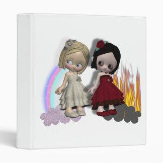 ángel y chicas del cutie del diablo