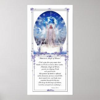 Ángel y poesía del invierno poster