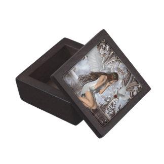 Ángel y su paloma caja de regalo de calidad