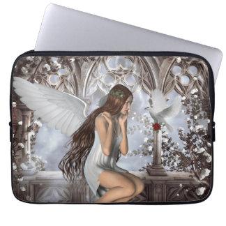 Ángel y su paloma manga computadora
