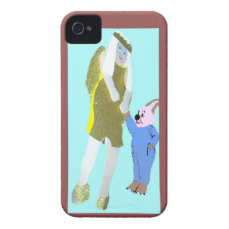 ángel y un pequeño conejo de eBooks iPhone 4 Cobertura