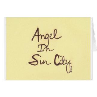 ANGEL YELLOW CARD