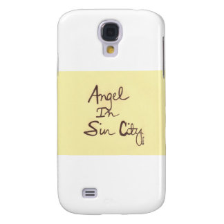 ANGEL YELLOW GALAXY S4 COVER