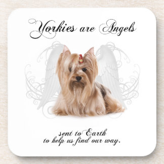 Angel Yorkie Coasters