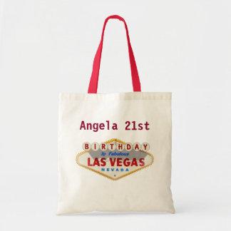 Angela 21st Birthday Las Vegas Tote Bag