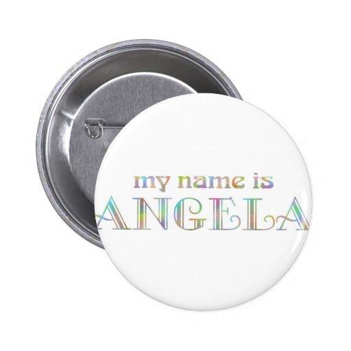 Angela 2 Inch Round Button