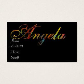 Angela Business Card