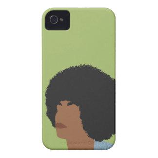 Angela Davis Feminist iPhone 4 Cover