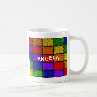 ANGELA ( female names ) Coffee Mug