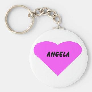 Angela Keychain