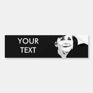 Angela Merkel Car Bumper Sticker