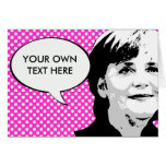 Angela Merkel Greeting Cards