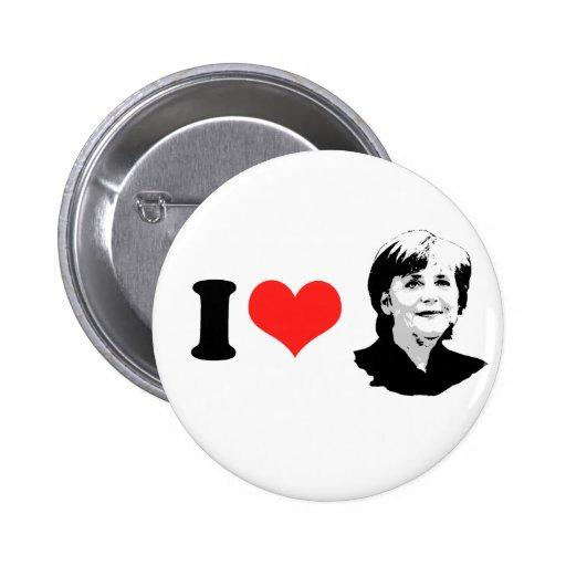 Angela Merkel Pin