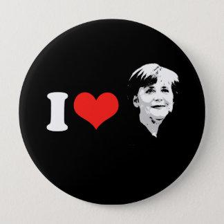 Angela Merkel Pinback Button