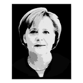 Angela Merkel Póster