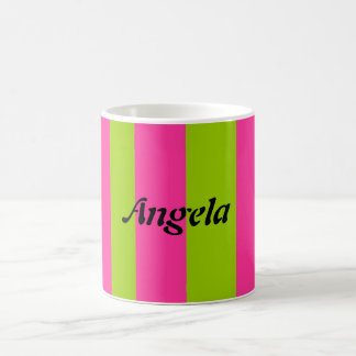 Angela Classic White Coffee Mug