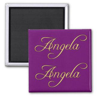 ANGELA Name-Branded Gift Magnet