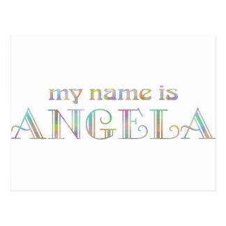Angela Postcard