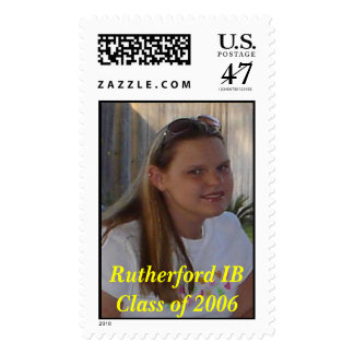 Angela, Rutherford IB Class of 2006 Postage