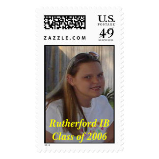 Angela, Rutherford IB Class of 2006 Postage Stamp