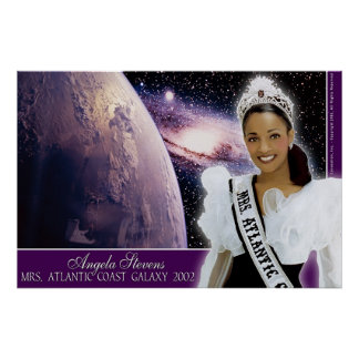 Angela Stevens, Mrs. Atlantic Coast Galaxy 2002-4 Poster