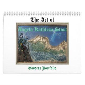 Angela Stout Goddess Calendar