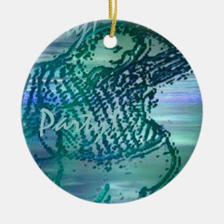 Angela's Attic Party Charm Ceramic Ornament