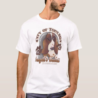Angela's Bassett by Robyn Feeley T-Shirt