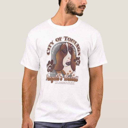 Angela's Bassett by Robyn Feeley T-Shirt