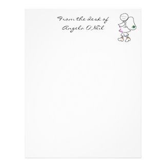 Angela's Stationary Custom Letterhead