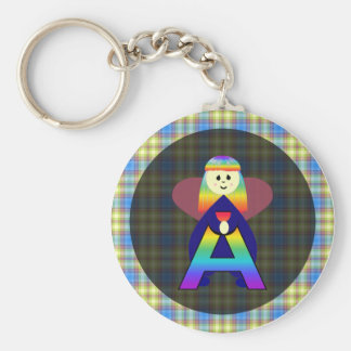 Angelbet Letter A Keychain