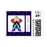 Angelbet Letter A Postage