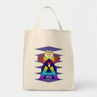 Angelbet Letter A Tote Bag