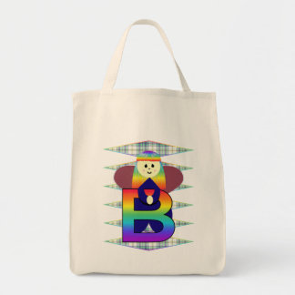 Angelbet Letter B Tote Bag