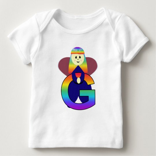 Angelbet Letter G Baby T-Shirt