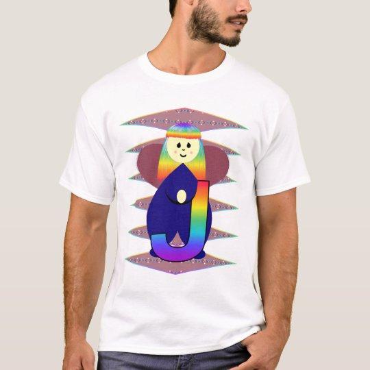 Angelbet Letter J T-Shirt